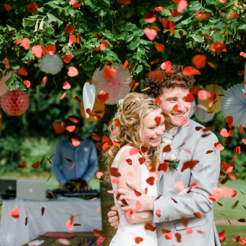 Photographie d'un mariage en normandie